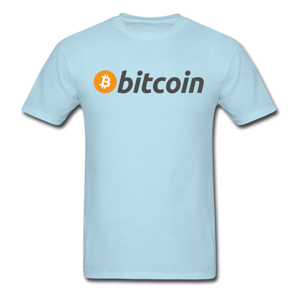 Bitcoin T-Shirt - powder blue