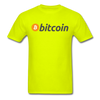 Bitcoin T-Shirt - safety green