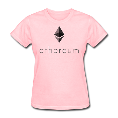 Women's Ethereum T-Shirt - pink