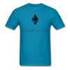 Men's Ethereum T-Shirt - turquoise