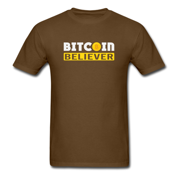 Men's Bitcoin Believer - brown
