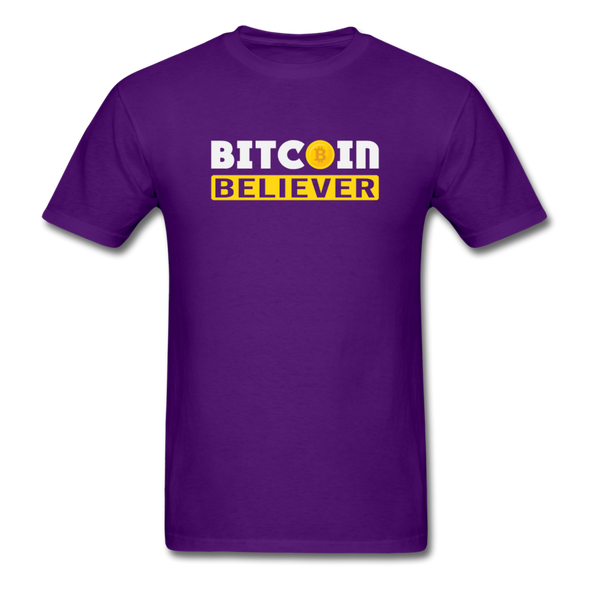 Men's Bitcoin Believer - purple