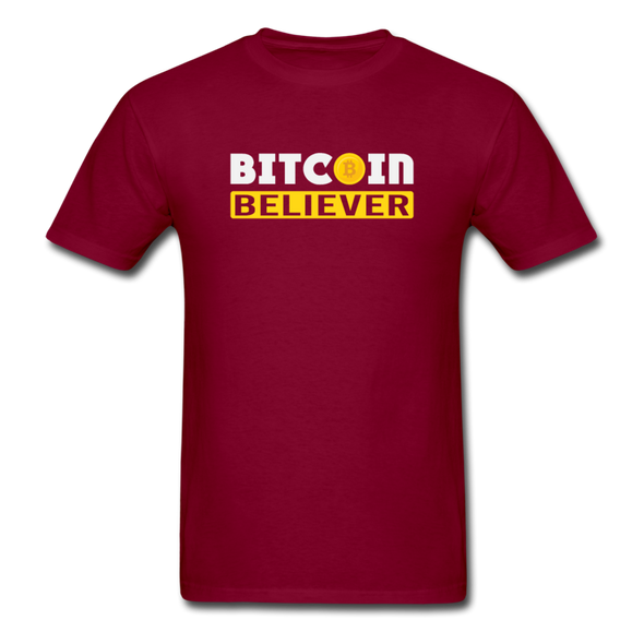 Men's Bitcoin Believer - burgundy