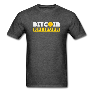 Men's Bitcoin Believer - heather black
