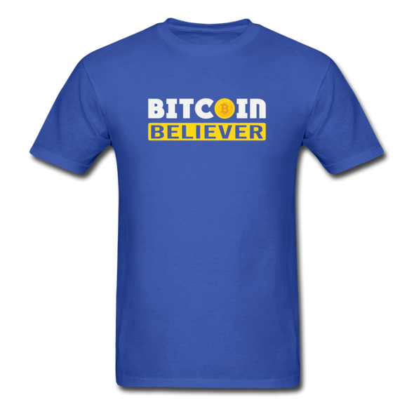 Men's Bitcoin Believer - royal blue