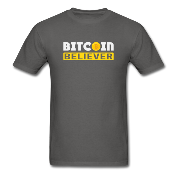 Men's Bitcoin Believer - charcoal