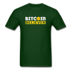 Men's Bitcoin Believer - forest green