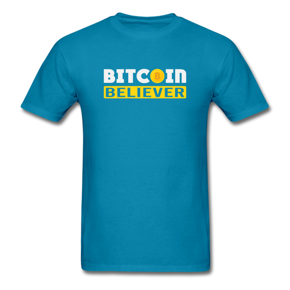 Men's Bitcoin Believer - turquoise