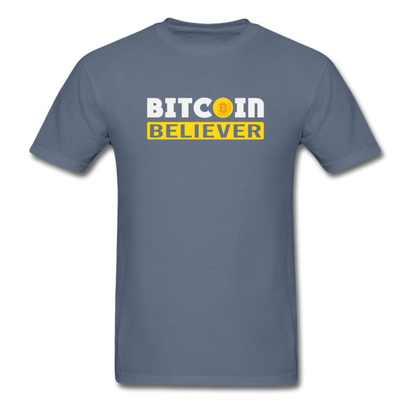 Men's Bitcoin Believer - denim