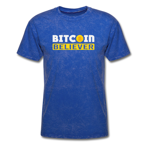Men's Bitcoin Believer - mineral royal