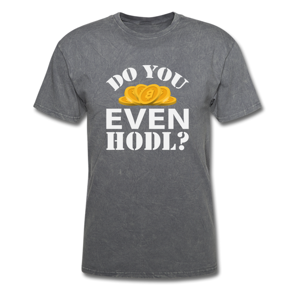 Men's Do You Even HODL? - mineral charcoal gray