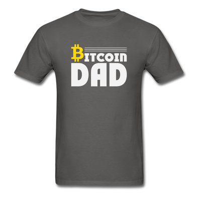 Men's Bitcoin Dad - charcoal