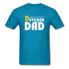 Men's Bitcoin Dad - turquoise