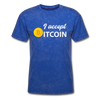 Men's I Accept Bitcoin - mineral royal