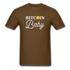 Men's Bitcoin Baby - brown