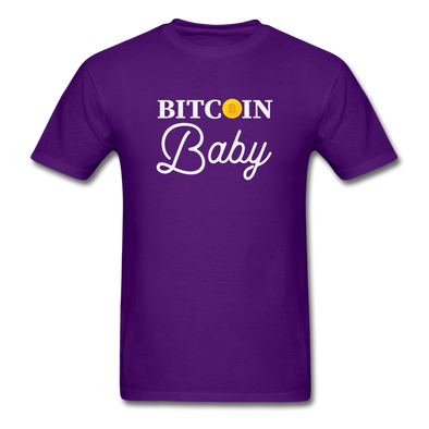 Men's Bitcoin Baby - purple
