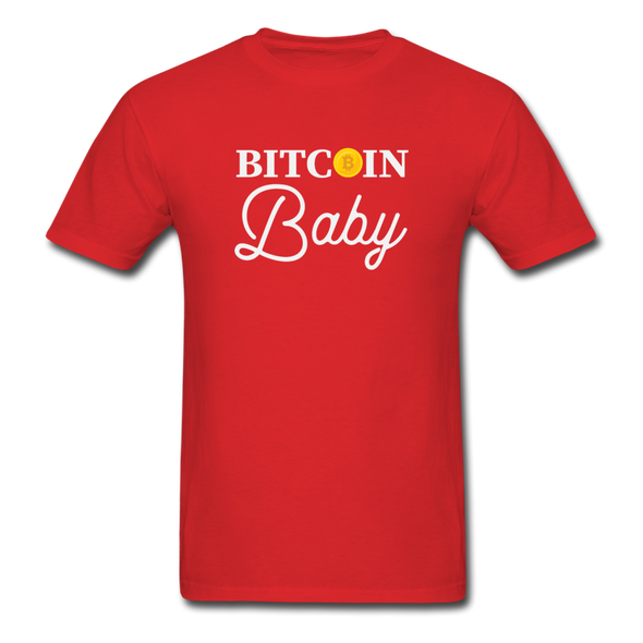 Men's Bitcoin Baby - red