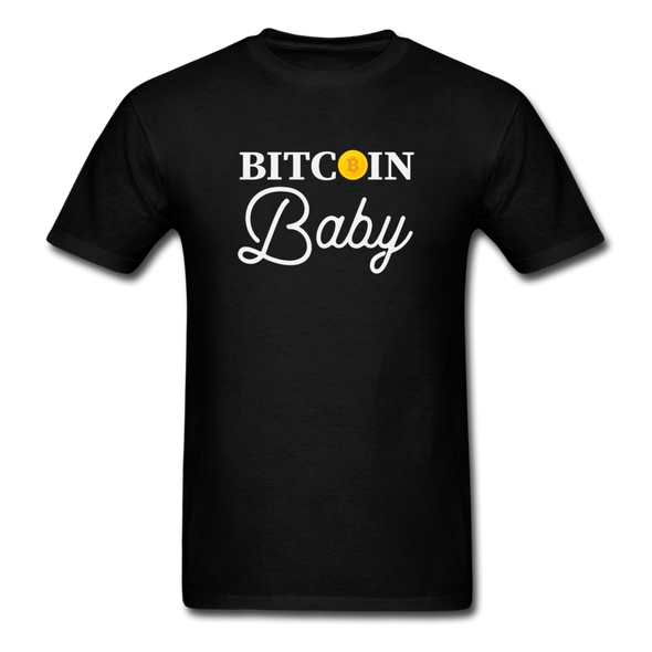 Men's Bitcoin Baby - black