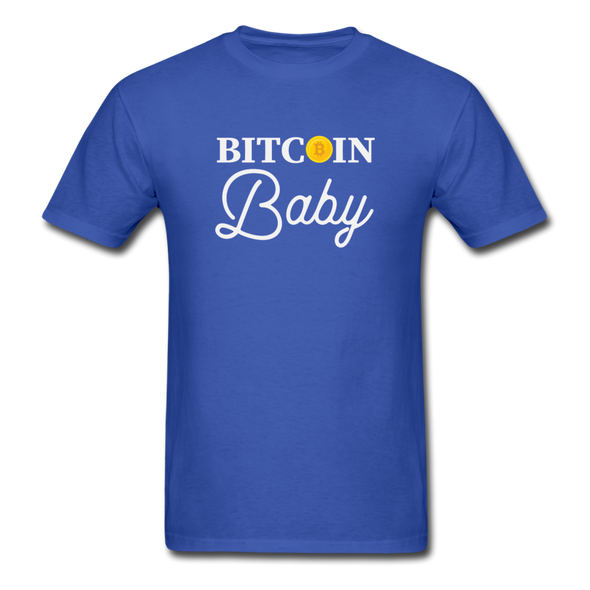 Men's Bitcoin Baby - royal blue