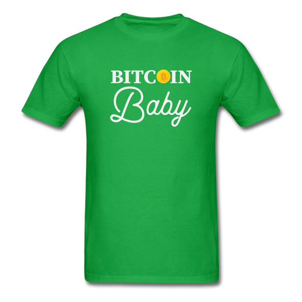 Men's Bitcoin Baby - bright green