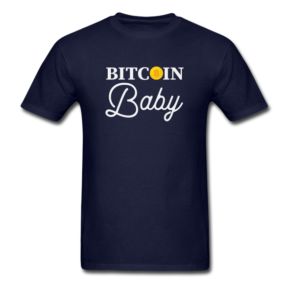 Men's Bitcoin Baby - navy