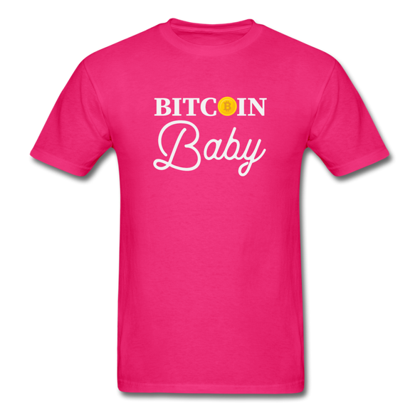 Men's Bitcoin Baby - fuchsia