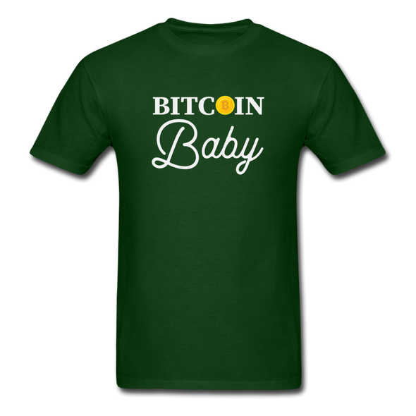 Men's Bitcoin Baby - forest green