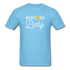 Men's Bitcoin Baby - aquatic blue