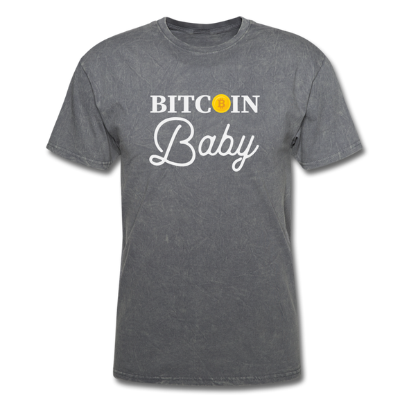 Men's Bitcoin Baby - mineral charcoal gray