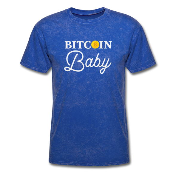 Men's Bitcoin Baby - mineral royal