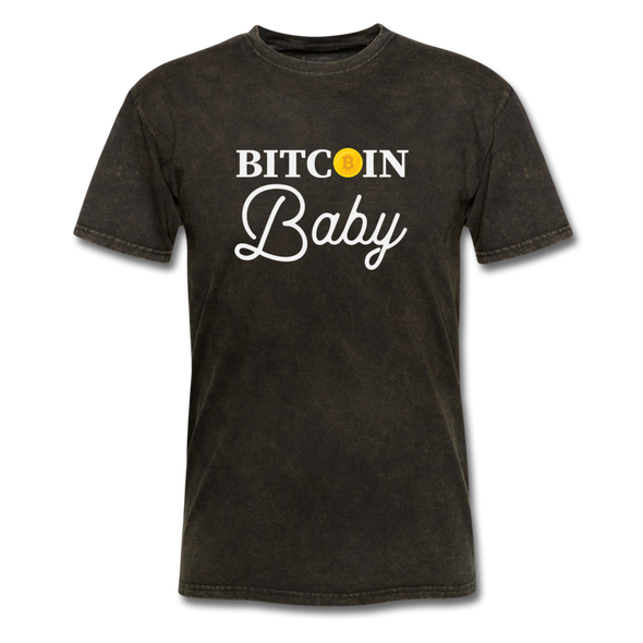 Men's Bitcoin Baby - mineral black