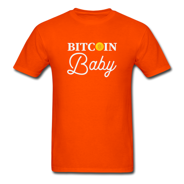 Men's Bitcoin Baby - orange