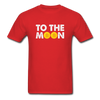 Men's To The Moon - red