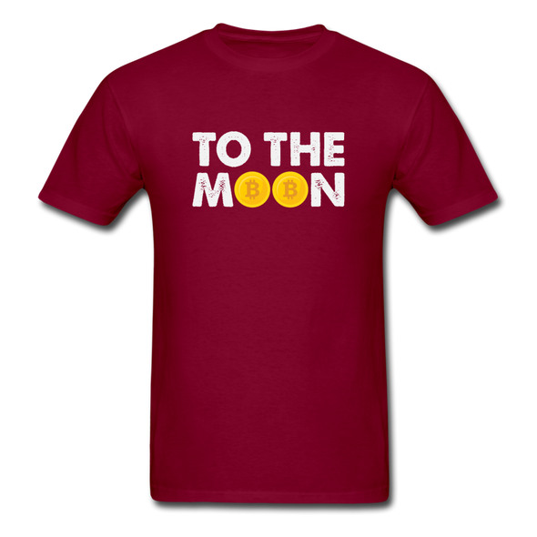 Men's To The Moon - burgundy