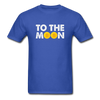 Men's To The Moon - royal blue