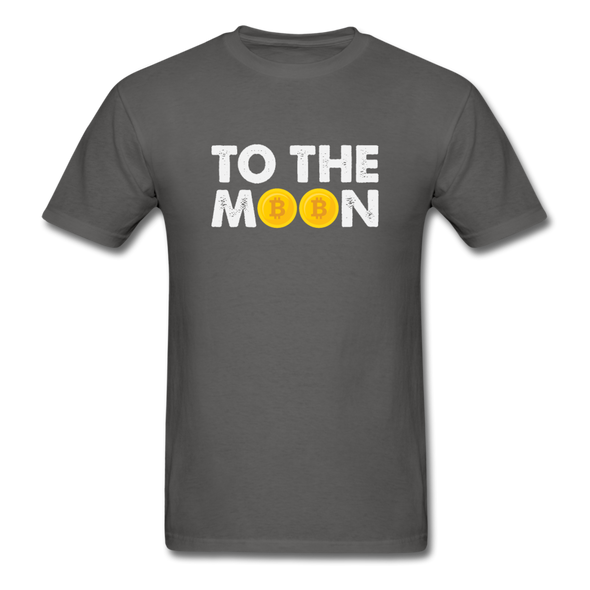 Men's To The Moon - charcoal