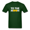 Men's To The Moon - forest green