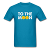 Men's To The Moon - turquoise