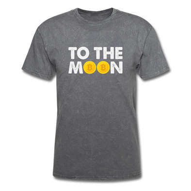 Men's To The Moon - mineral charcoal gray