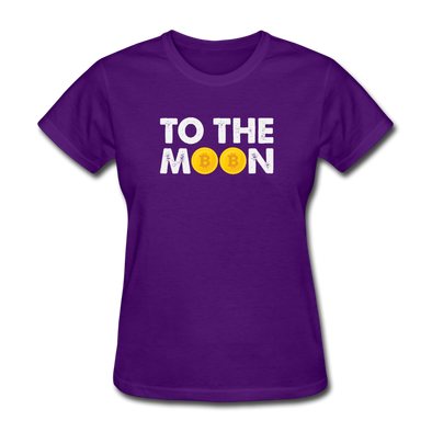 Women's Too The Moon - purple