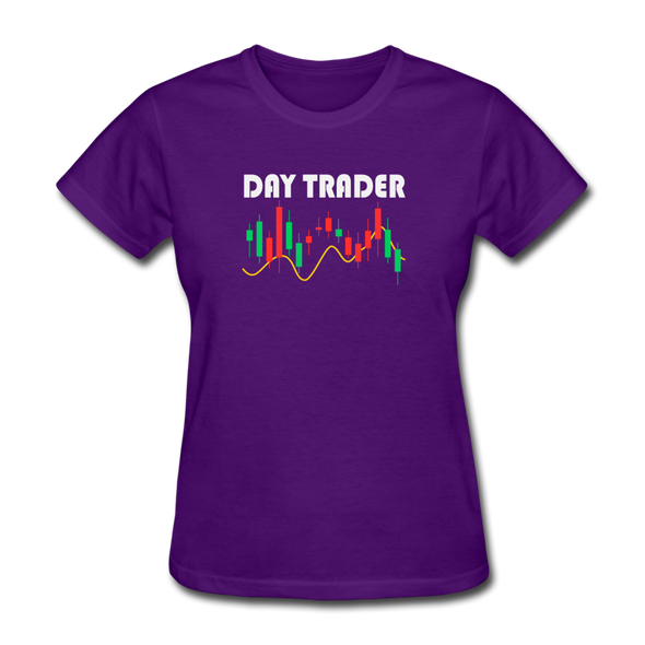 Women's Day Trader - purple