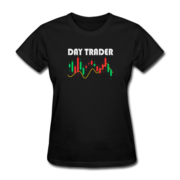 Women's Day Trader - black