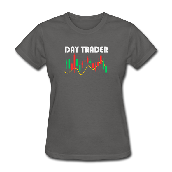 Women's Day Trader - charcoal