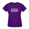 Women's We Are All Satoshi - purple