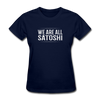 Women's We Are All Satoshi - navy