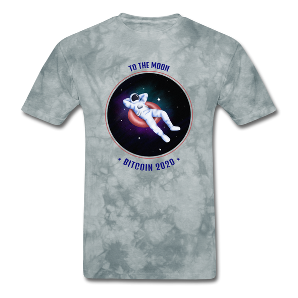 Men's T-Shirt - grey tie dye
