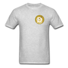 Dogecoin Astro on Back - heather gray