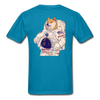Dogecoin Astro on Back - turquoise