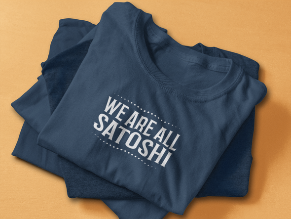 Men's We Are All Satoshi