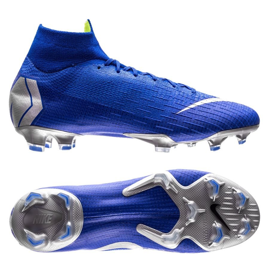 buy online 8c6f3 2af95 NIKE MERCURIAL SUPERFLY 6 ELITE FG ALWAYS FORWARD - BLAU SILBER -  Sporty-King